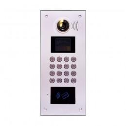 Videointerfoane Post exterior de usa bloc sistem JB-5000 cu card reader.Sistem digital multiapartament. Leelen