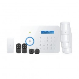 ChuangoChuango B11 sistem de alarma wireless dual GSM/PSTN cu 4 zone