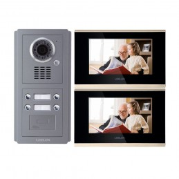 LeelenVideointerfon IP LEELEN 2 familii cu cititor de card