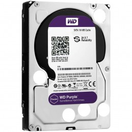 Western DigitalHDD AV WD Purple (3.5'', 4TB, 64MB, 5400 RPM, SATA 6 Gb/s)