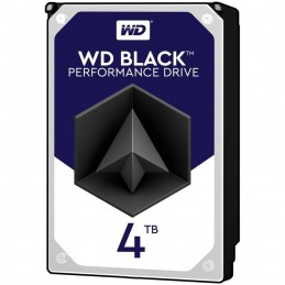Western DigitalHDD Desktop WD Black (3.5'', 4TB, 256MB, 7200 RPM, SATA 6 Gb/s)