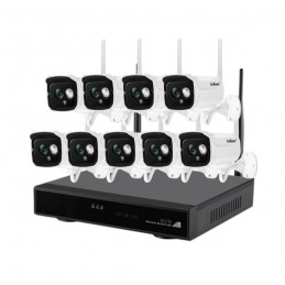 SricamSISTEM SUPRAVEGHERE VIDEO IP WIRELESS NVR 9 CAMERE SH024 SRICAM NVS002