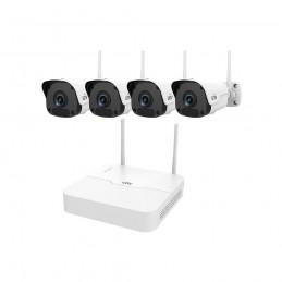 Camere IP Sistem supraveghere IP wireless 1080P Uniview KIT/301-04LB-W Uniview