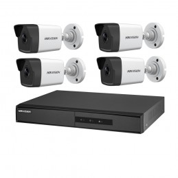 HIKVISIONSistem supraveghere IP 4 canale POE Hikvision NK42E0H-1T(WD)