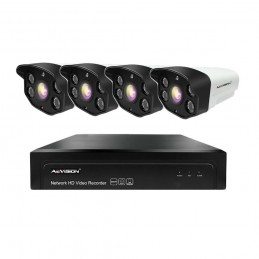 AEVISIONSistem supraveghere video IP 4 camere exterior 50m 1080P Aevision
