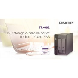 QNAPQNAP 2 BAY USB 3.1 GEN 2 TYPE C