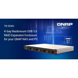 QNAPQNAP EXPANSION 4BAY RACK USB 3.0 TYPE C