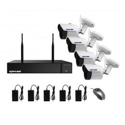 EyecamSistem supraveghere video Wifi 5MP 4 camere Eyecam