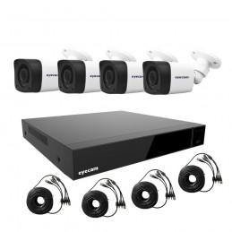 EyecamSistem supraveghere video 1080N 4 camere Eyecam
