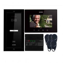 """ELECTRAVideointerfon Electra Smart+ 7"""" pentru o familie montaj incastrat - negru"""