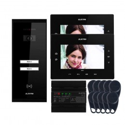 "Videointerfoane Videointerfon Electra Extra 7"" pentru 2 familii montaj aparent ELECTRA"