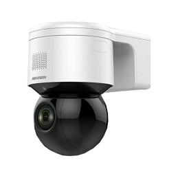 Camere IP Hikvision Camera IP WI-FI Mini PTZ, 4.0 MP, zoom optic 4X, IR 50M, Audio, Flash - HIKVISION DS-2DE3A404IW-DE-W HIKV...
