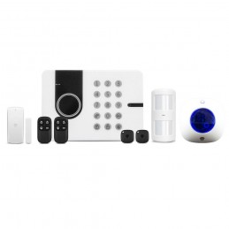 ChuangoSistem de alarma wireless Chuango G5W si mini-sirena wireless WS-105
