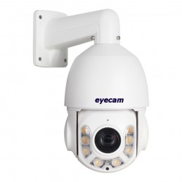 EyecamCamera IP Speed Dome PTZ 18X Color AI full HD 1080P Sony Starvis Eyecam EC-1417