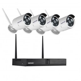 Sistem supraveghere Wireless Exterior 4 canale 2MP Eyecam M7