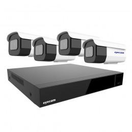 Sistem Supraveghere Video Exterior 4 camere Starvis 40M 5MP
